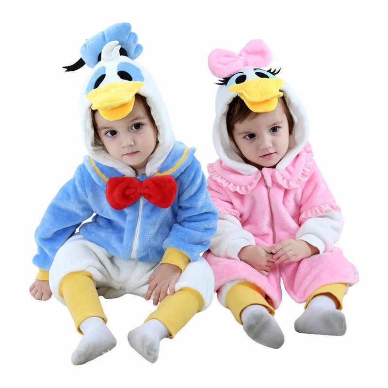 2019 sonbahar pazen karikatür giyim çocuk erkek kız giyim çocuk Onesie pijama çocuk hayvan Cosplay cadılar bayramı kostümleri