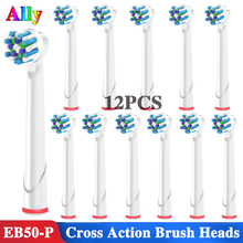 12pcs EB50 Electric toothbrush heads Replacement Brush Heads For Oral B Triumph Vitality OC18 OC19 Cross Action Toothbrush heads