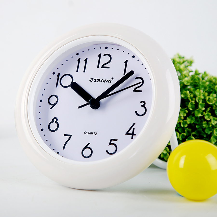 European Modern Design Quartz Clock Waterproof Silent Wall Clock