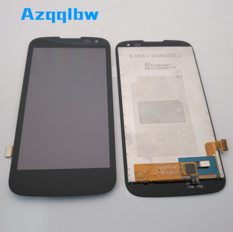 Azqqlbw For <font><b>LG</b></font> K3 LTE <font><b>K100</b></font> K100DS LS450 Touch Screen Digitizer Panel Glass+LCD Display Monitor Assembly <font><b>K100</b></font> Display +tools image
