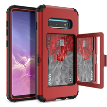 Luxury PC Hard case For Samsung Galaxy S10 Plus S10e Cases 360 Full Protect Heavy Duty Shockproof  Cover Case
