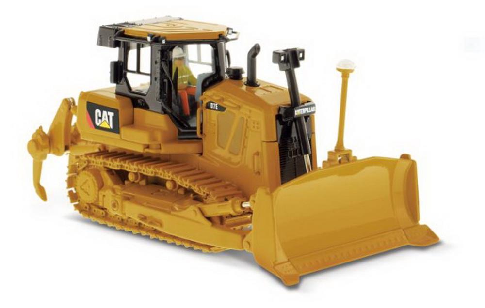 Modèle moulé sous pression de tracteur de Type chenille Cat D7E à l'échelle Masters 1/50 modèle #85224