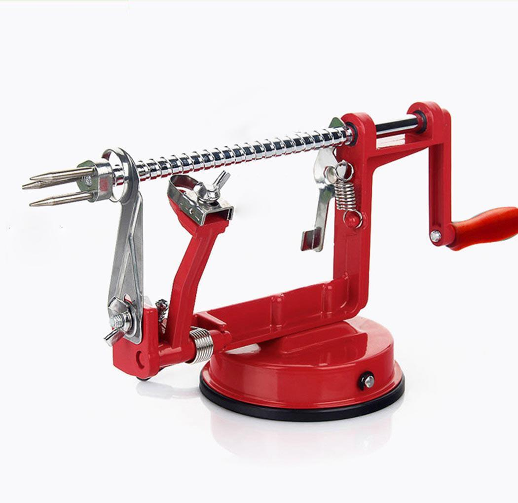 Pears New for Apples Red Kitchen Potatoes Tools Fruit Peeler Useful Slicer Cutter