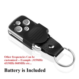 Image 3 - Wireless 433Mhz Cloning Remote Control Copy Code Remote 4 Keys Electric Cloning Gate Garage Door Auto Remote Control Duplicator