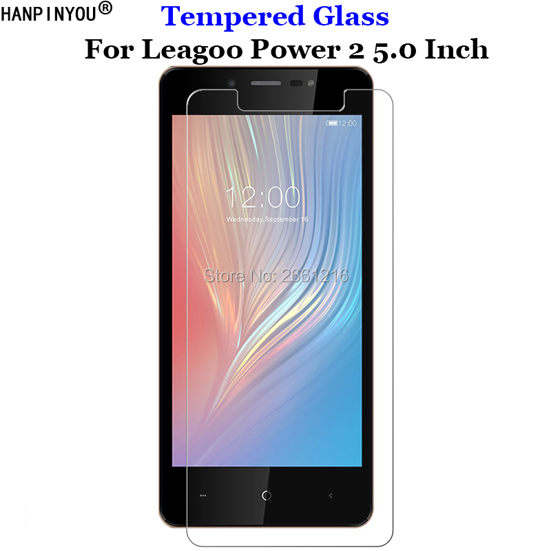 For Leagoo Power2 Tempered Glass 9H 2.5D Premium Screen Protector Film For Leagoo Power 2 5.0