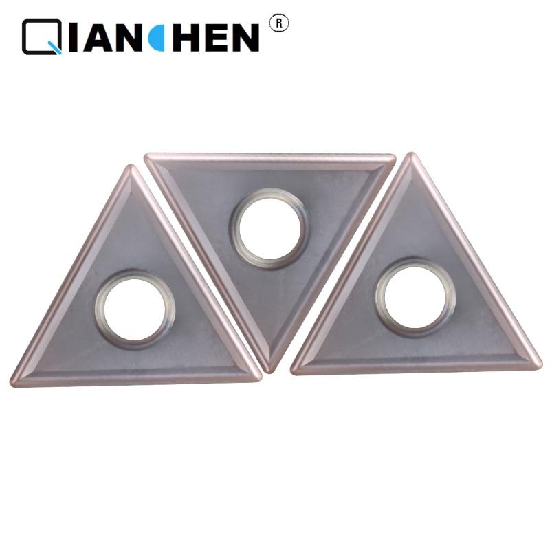 Qianchen Independent original quality high Precision high performance high hardness CNC TNMG160404 MS XC7129 carbide inserts