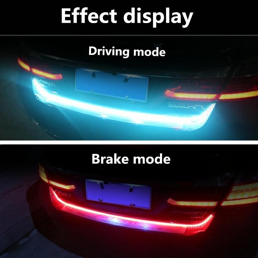 Car Led Trunk Strip RGB Strip Light For Chery Tiggo 3 5 2016 A3 QQ A5 A1 Amulet A13 E5 FOR Great Wall/lifan/ Byd