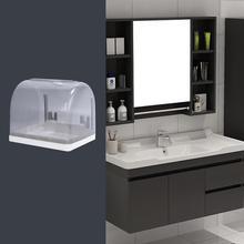 Ванная комната Туалетная бумага полотенца Держатель удар бесшовные настенные бумажные полотенца Туалет Водонепроницаемая пластиковая коробка для одноразовых салфеток крышка