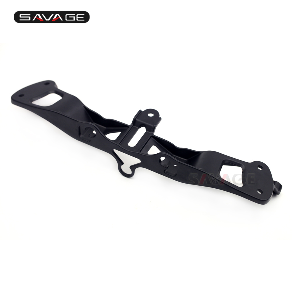 Headlight Cowling Mirror Stay Bracket For KAWASAKI ZX-6R ZX-636 ZX-6RR NINJA ZX6R Motorcycle Accessories Front Upper