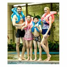New PVC Children Adult Inflatable Swim Ring Baby Thickened Durable Floating For Beginners Swimming Equipment Portable