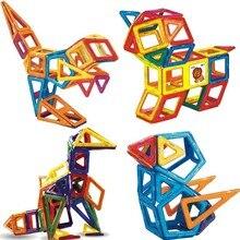 New Magnetic Blocks And Magnetic Construction Toy Construction Set Model Plastic Magnet Educational Toys Children Gift цены