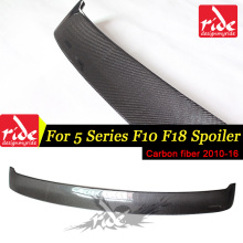 F10 Carbon Fiber Car Rear Window Roof Spoiler Wing Lip For BMW F10 F18 M5 5-Series 520i 525i 528i 530i 535d 535i 550i 2010-2016 стоимость