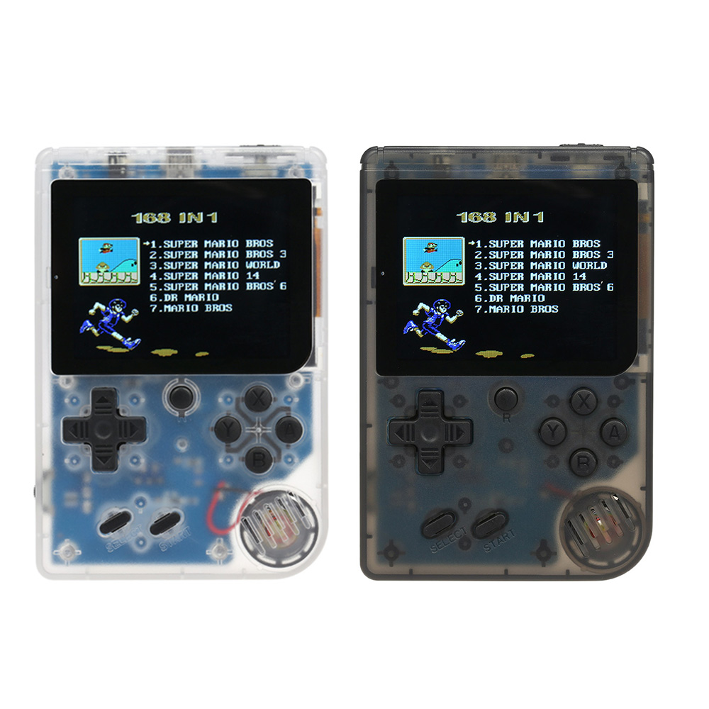Handheld Game Console Emulator Built-in 168 Games Video Games portable Retro Mini Game Player for FC Best Gift For Kids  s0