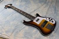 Fantasy Guitar Club,ricken bass guitar,vintage sunburst factory direct backer bass. chrome hardware free shipping