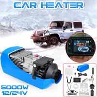 12V/24V 5KW Car Heater Air Diesels Heater Parking Heater With Remote Control LCD Monitor for RV Motorhome Trailer Trucks Boats