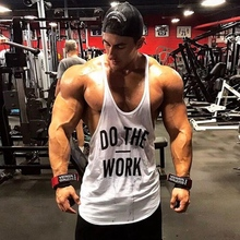 Muscleguys Brand Gyms Clothing Singlet Y Back Gym Tank Top M