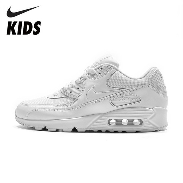 online store c50a6 d5aaa US $41.0 50% OFF|Nike Air Max 90 Kids Running Shoes Air Cushion Motion  Sports Outdoor Sneakers #537384 111-in Sneakers from Mother & Kids on ...