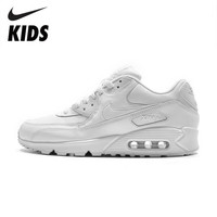 Nike Air Max 90 Original Kids Shoes Children Running Shoes Air Cushion Motion Sports Outdoor Sneakers #537384-111