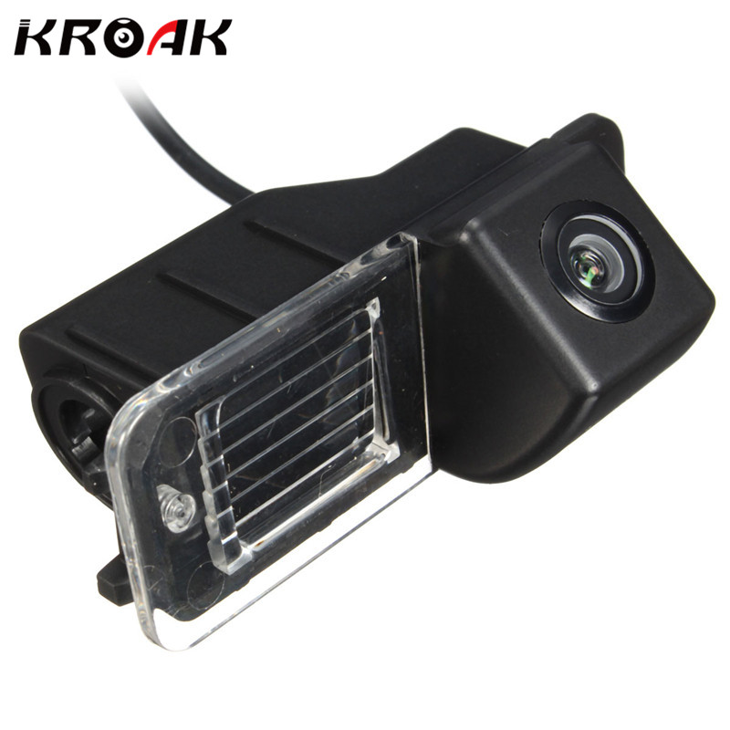 Kroak Car Rear View Backside Reverse Camera For Volkswagen For VW/ For Polo V/Golf 6/Passat CC 2008-2014 Night Vision