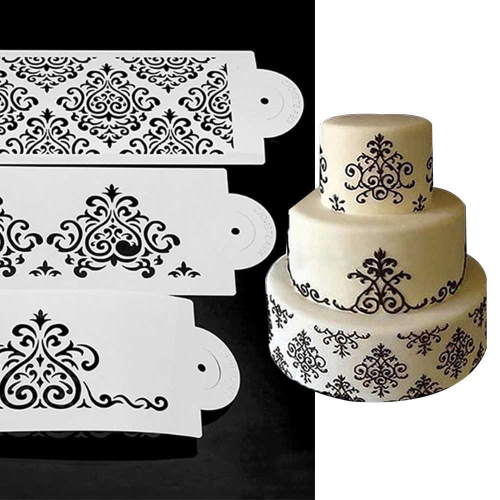 Krake Kaffee Spray Drucken Form DIY Kuchen geprägtem Dekor Backen Schablone
