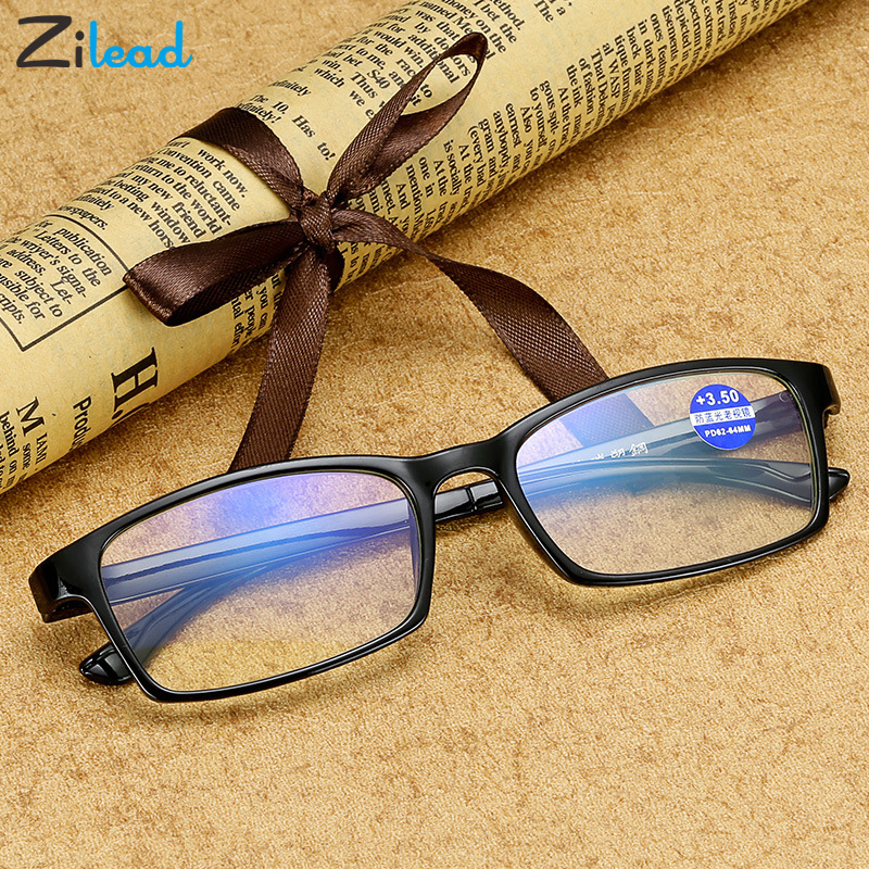 Zilead Fashion Anti Blue Rays Reading Glasses Brand Design Classical Presbyopia Ultralight Fashion Women High Quality Glasses