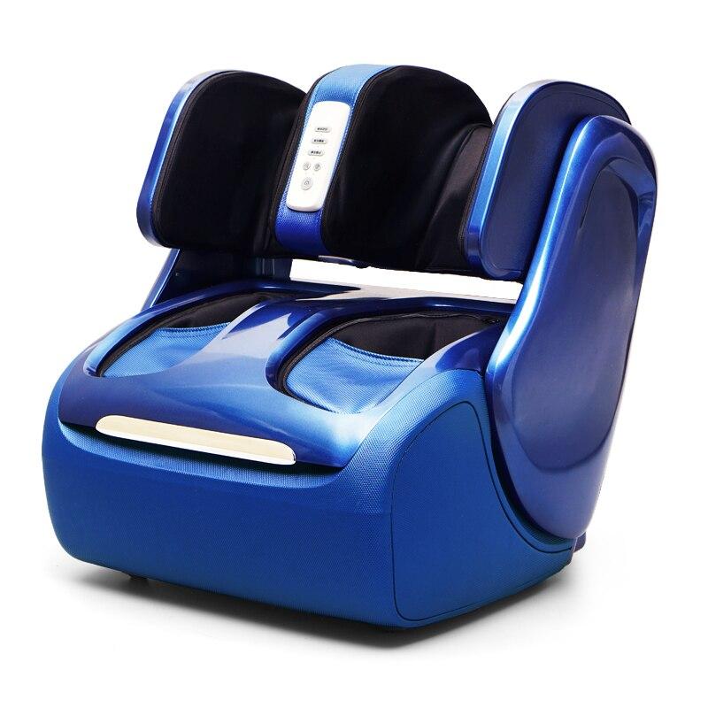 Masseur électrique de genou de pied de jambe chauffant la Machine de Massage de veau rouleau de Compression d'air de pression d'air Shiatsu Massageador Eletrico