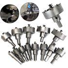 13Pcs Metal Alloy Tip Drill Bit TCT Heavy Duty Plastic Aluminum Metal Wood Saw Set Drilling Hole Cut Tool 16-53mm