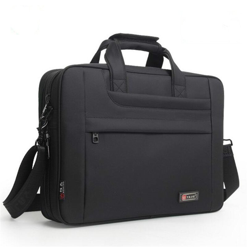 2020 New Men Business Briefcase Laptop Computer Bags Women Men's Office Work Meeting Handbags Male Waterproof Nylon Travel Bag