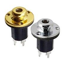 1/4' Jack Socket for Guitar Bass Equalizer Jack EQ Preamp End Pin Output Input Socket Parts цена в Москве и Питере