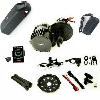 Lo nuevo en la versión Bafang 8Fun BBSHD Mediados de coche Kit de Motor de 48V 1000W Ebike Kits con luz y de conectores de sensor 48V 17Ah batería