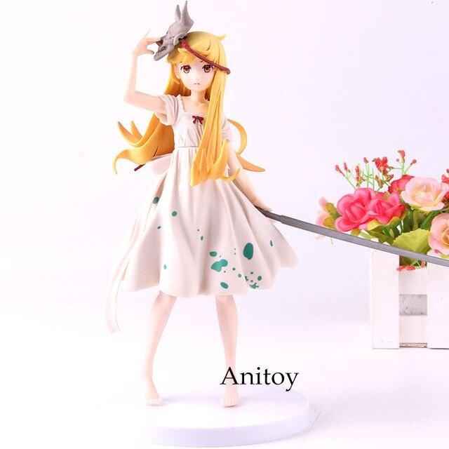 Oshino Shinobu EXQ Figure Anime Figurine Oshino Shinobu Action Figure PVC Collection Model Toy