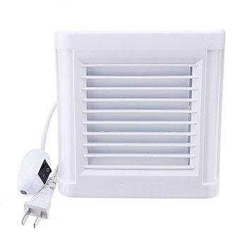 Extractor de aire silencioso para baño, 4/6 pulgadas, resistente al agua, ventilador...