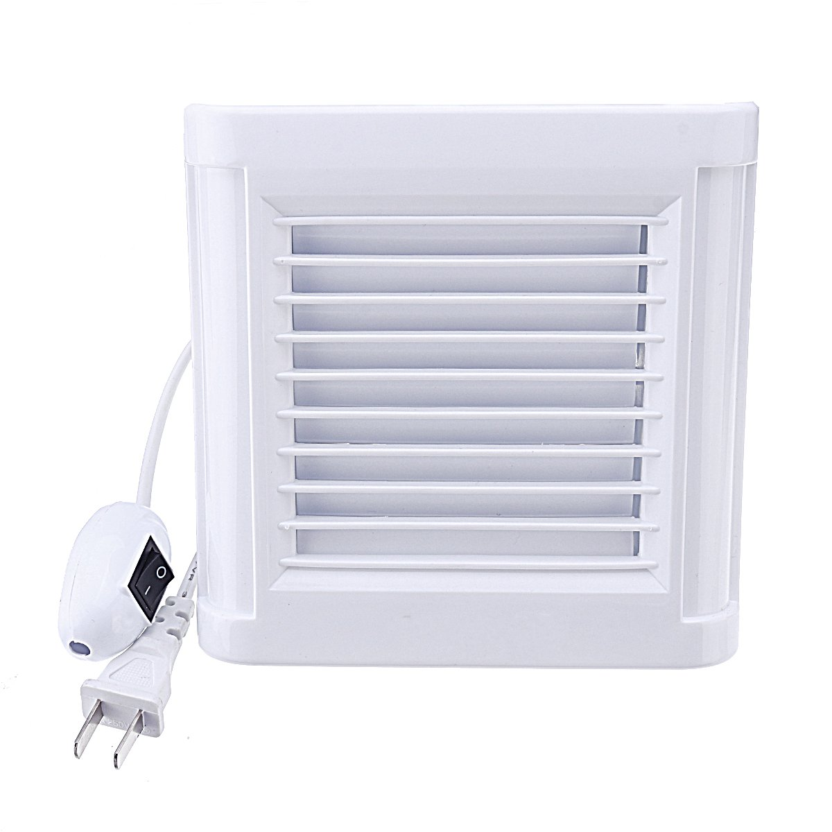 4/6 Inch Waterproof Mute Bathroom Extractor Exhaust Fan Ventilating Strong Fan For Kitchen Toilet Window Ventilation Fans 220V