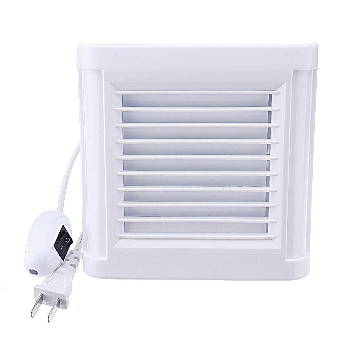 4/6 Inch Waterproof Mute Bathroom Extractor Exhaust Fan Ventilating Strong Fan For Kitchen Toilet Window Ventilation Fans 220V