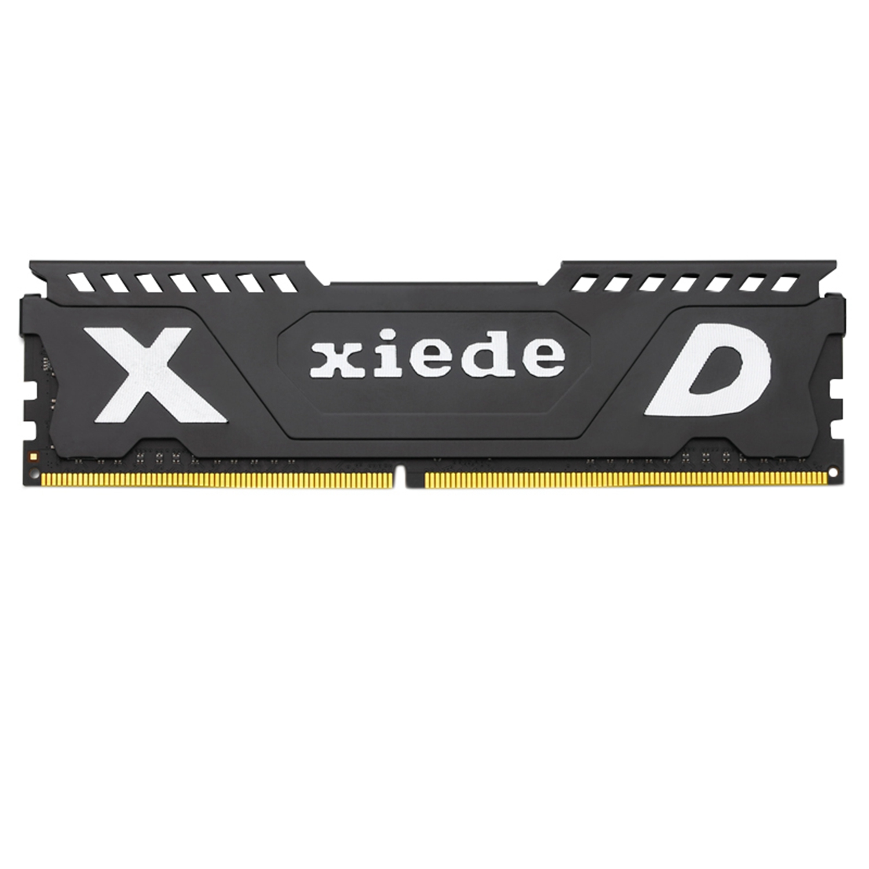 Xiede ordinateur de bureau mémoire vive Module Ddr4 2400 Pc4-19200 288Pin Dimm 2400 Mhz Avec dissipateur de chaleur Pour Amd/Inter