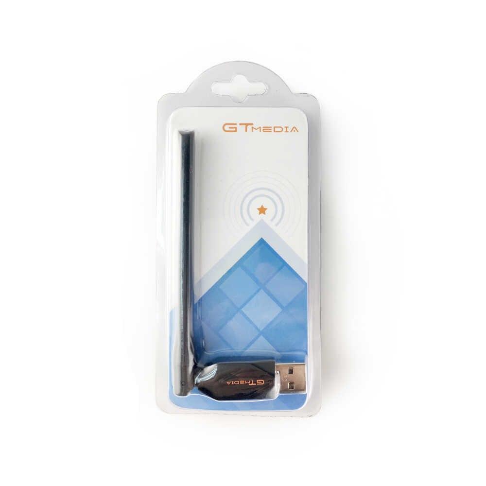 Nóng AMS-Gtmedia USB Anten Wifi Dongle Cho Freesat V7 Plus V7S HD Vệ Tinh Thu Wifi LAN IPTV Wifi bộ Chuyển Đổi