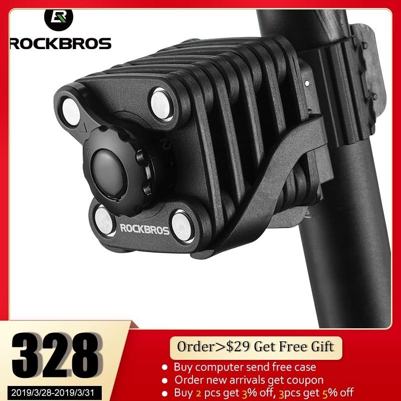 ROCKBROS национальный патент вознаграждение велосипедный высокий уровень безопасности дрель упорная замок Пароль ключевых кражи цилиндровый ...