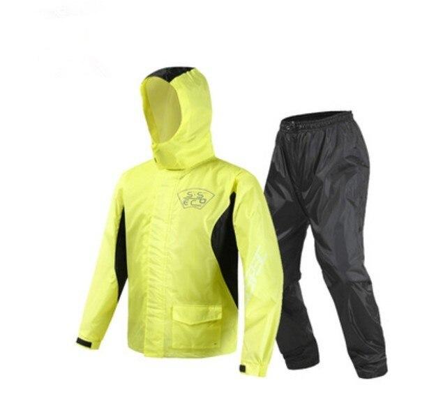 2018 nouveauté Moto équitation imperméable Moto pantalon de pluie costume adulte Split extérieur respirant étanche à la pluie SCJ-605 livraison gratuite - 3