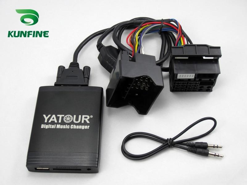 Автомобильный цифровой музыкальный адаптер USB SD Aux MP3 интерфейс автомобиля стерео радио для BMW2 Bluetooth телефон плесень и контроллер опциональн...