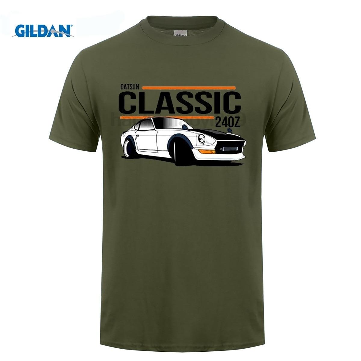 GILDAN 2017 Hot Sell Men 39 S High Quality Custom Printed Tops Hipster Tees Men 39 s DATSUN 240Z Design Cotton Tee Shirt in T Shirts from Men 39 s Clothing