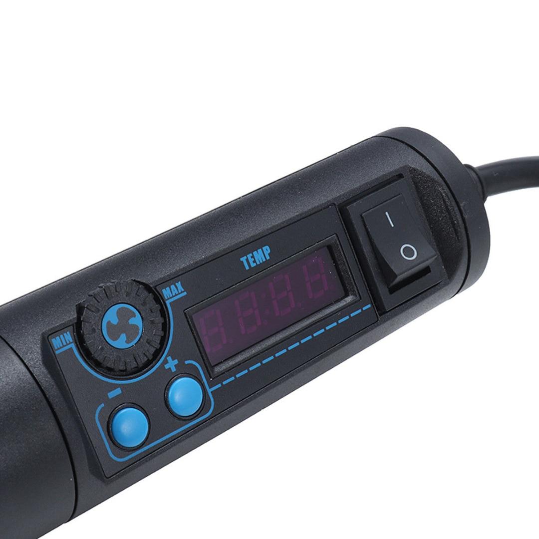 OSSIEAO 650 Вт отрегулировать тепловой инструмент горячего воздуха ветряной нагреватель для припоя - 5