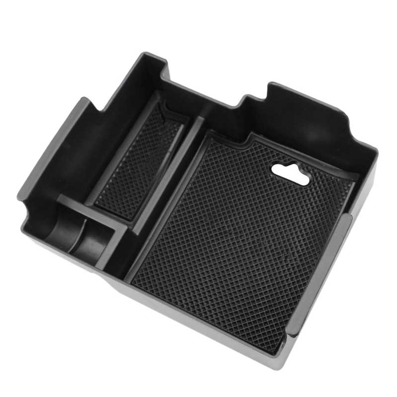 Car Central Console Storage Box Armrest Box Tray For Ford Explorer 2011-2017
