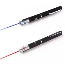 Мощность Фул красный/фиолетовая лазерная указка перо обучение ведущий луч светильник высокого Мощность охотничий лазер прицел Диаметр устройства