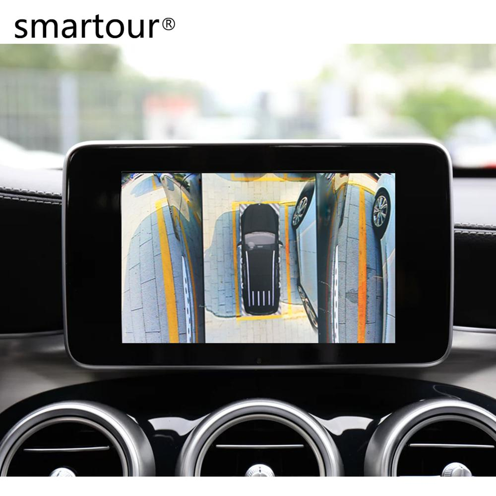 Smartour Car 3d Surround View Monitoring System 360 Bird S Eye View