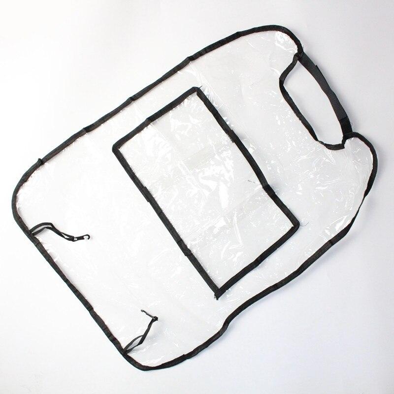 Protection imperméable siège auto enfants Anti-coup de pied housses de dossier Protection Anti-taches contre les rayures de boue de saleté