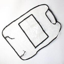 Wodoodporna ochrona samochód dzieci siedzenia Anti Kick Seat powrót obejmuje odporny na plamy ochrona przed brudem błoto zadrapania w Ochraniacze fotela samochodowego od Samochody i motocykle na
