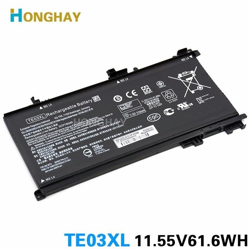 HONGHAY TE03XL Laptop Battery For HP OMEN 15 TPN-Q173 HSTNN-UB7A 15-bc011TX 15-bc012TX 15-bc013TX 15-bc014TX 15-bc015TX AX017TX