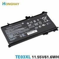 HONGHAY TE03XL Laptop battery For HP OMEN 15 TPN Q173 HSTNN UB7A 15 bc011TX 15 bc012TX 15 bc013TX 15 bc014TX 15 bc015TX AX017TX