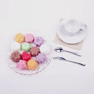 Image 5 - Kek pişirme kalıp silikon sabun kalıp 3D çikolata malzemeleri 12 delikli fırın tepsisi tepsi kalıpları şeker yapma aracı DIY jöle kalıp