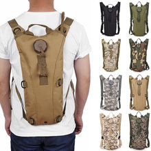 a5cc919fbd 3L Military Tactical Water Bag Molle Hydration Back Pack Outdoor Camping  Cycling Camelback Backpack Camel Water